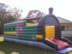 Train Jumping Castle